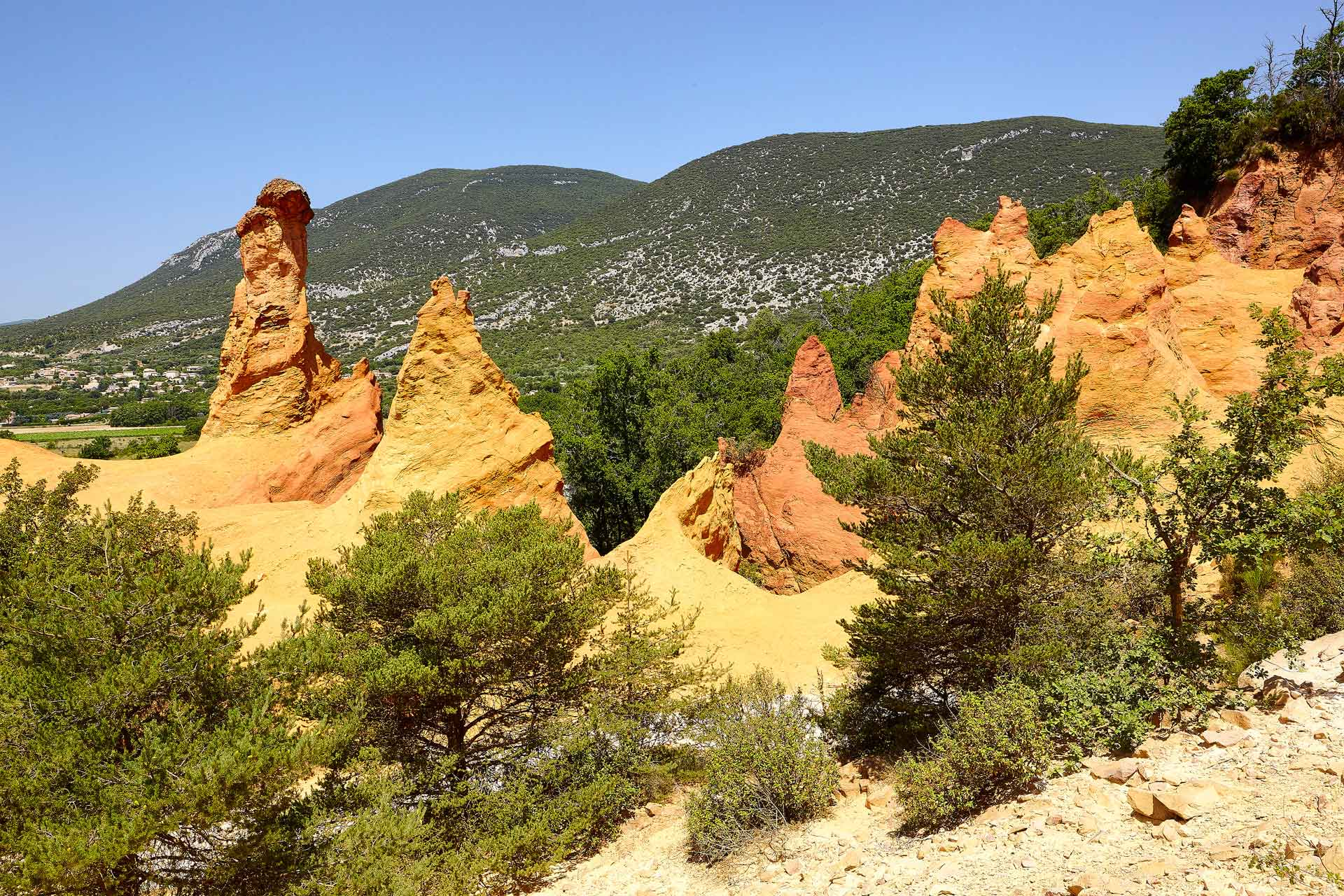 Provence-Roussillon-Colorado-Rustrel
